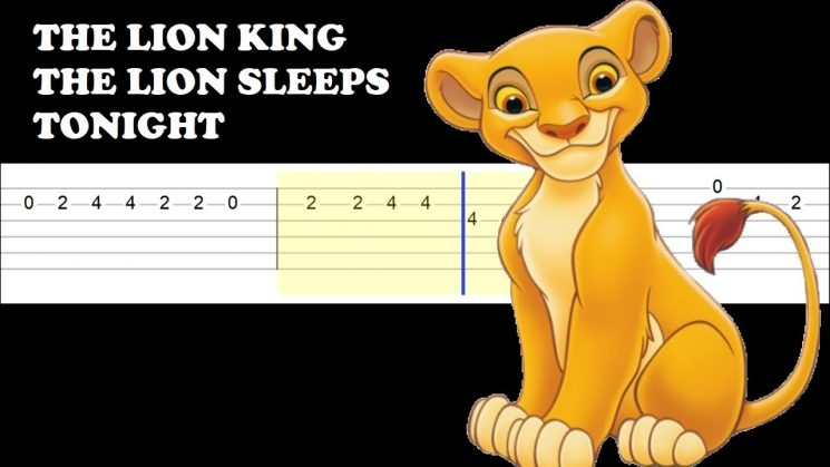 The Lion Sleeps Tonight (The Lion King) By The Tokens Kalimba Tabs