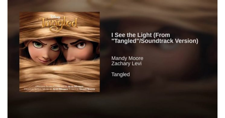 I See the Light By Mandy Moore, Zachary Levi (Tangled)
