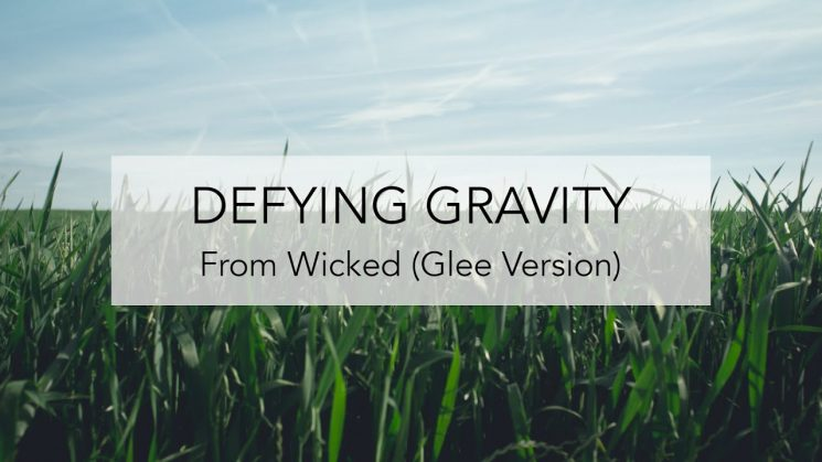 Defying Gravity (Wicked) By Glee Kalimba Tabs