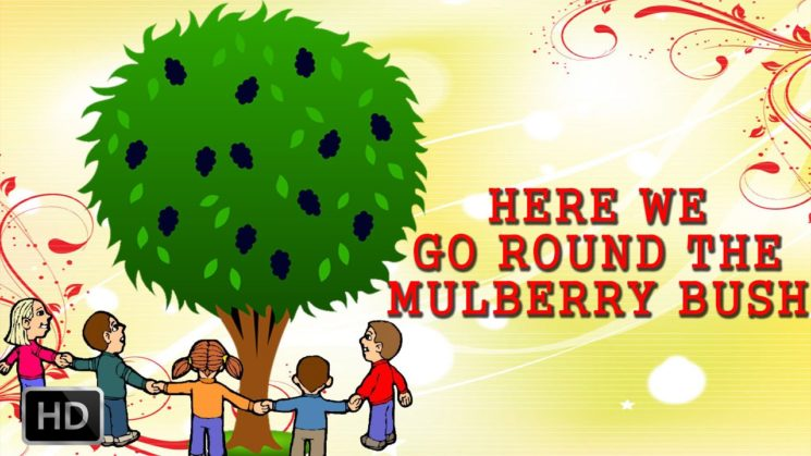 Here We Go Round The Mulberry Bush By The Countdown Kids Kalimba Tabs