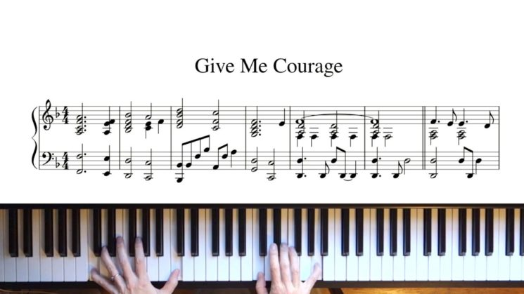 Give Me Courage By JW.ORG Original Song Kalimba Tabs