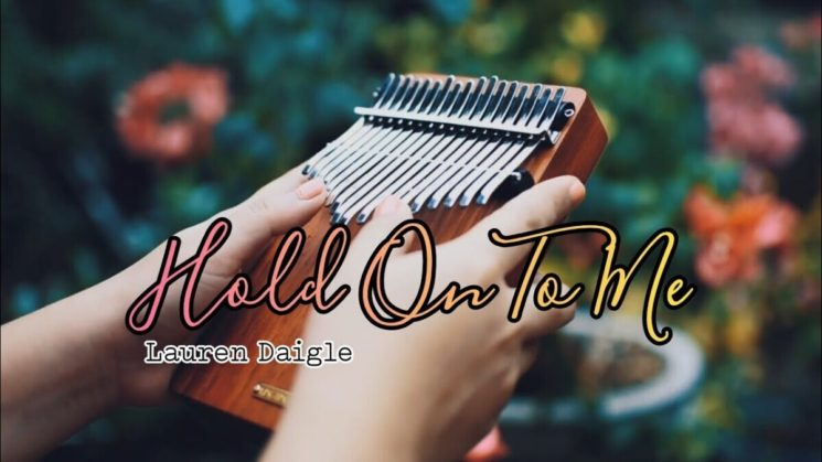 Hold On To Me By Lauren Daigle Kalimba Tabs