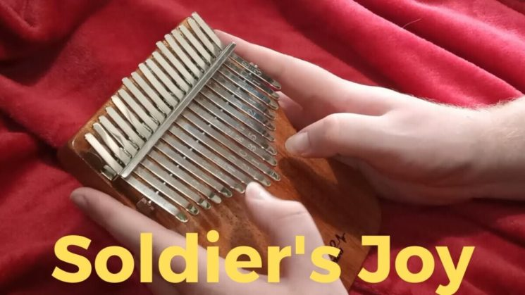 Soldier's Joy By Traditional American Reel Kalimba Tabs