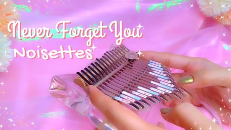 Never Forget You By Noisettes Kalimba Tabs