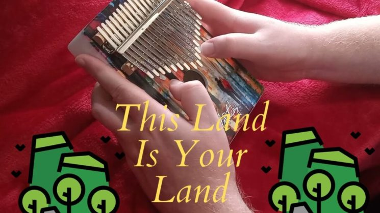This Land Is Your Land By Woody Guthrie Kalimba Tabs
