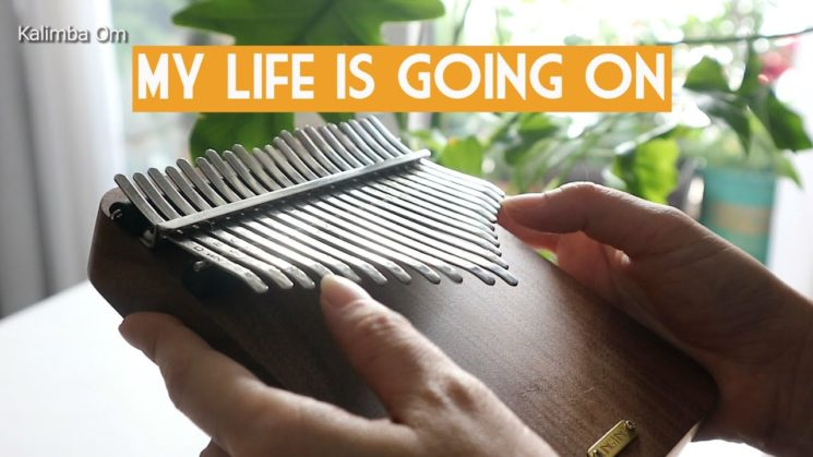 La Casa De Papel OST - My Life Is Going On By Cecilia Krull, Burak Yeter (21 Key) Kalimba Tabs