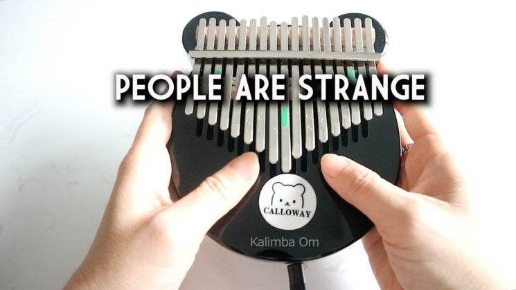 People Are Strange By The Doors Kalimba Tabs