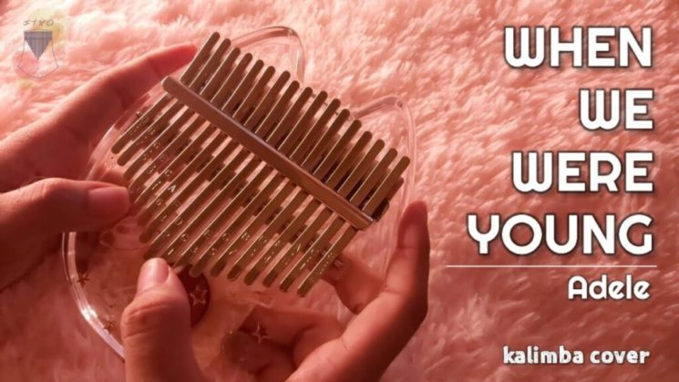 When We Were Young By Adele Kalimba Tabs