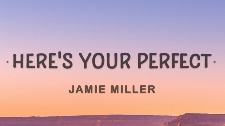 Here's Your Perfect By Jamie Miller Kalimba Tabs