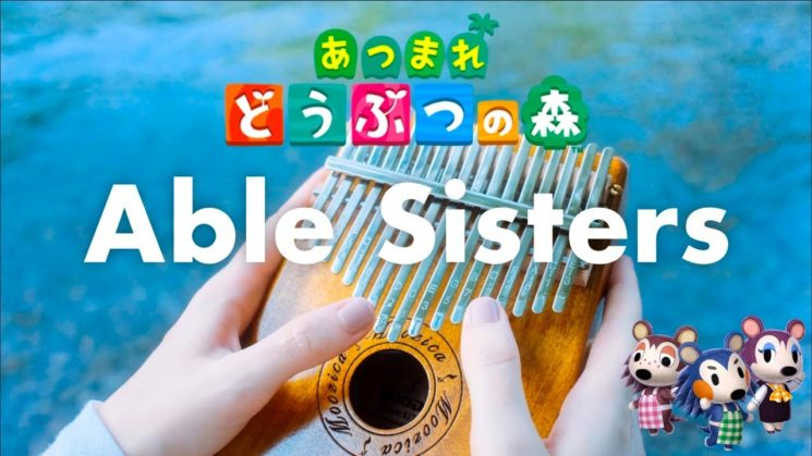 Able Sisters By Animal Crossing OST Kalimba Tabs