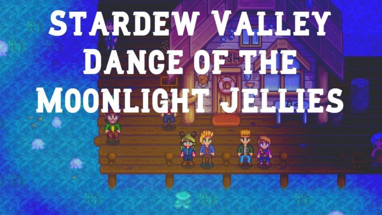 Dance Of The Moonlight Jellies By Stardew Valley OST Kalimba Tabs
