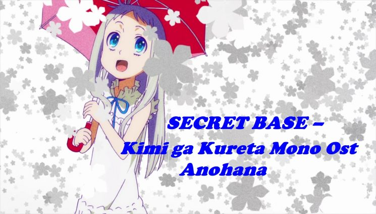 Secret Base (The Flower We Saw That Day) By Anohana Kalimba Tabs