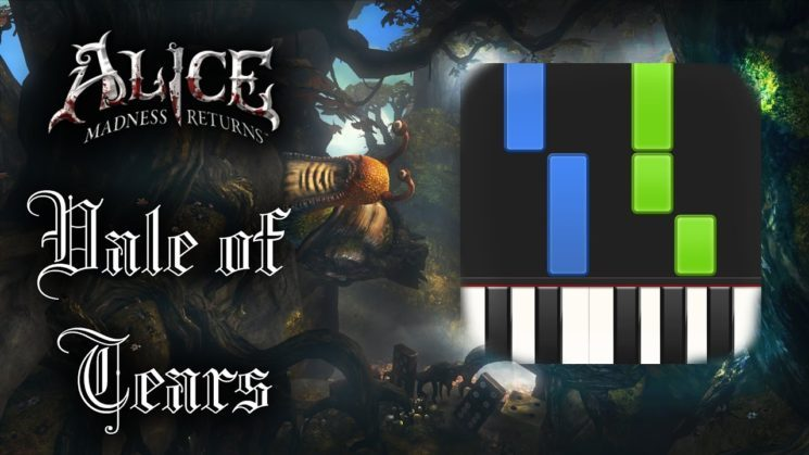 Vale Of Tears By Alice Madness Returns Kalimba Tabs